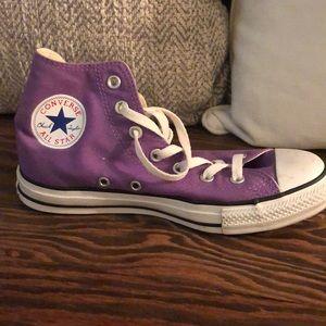 Purple Converse All Stars